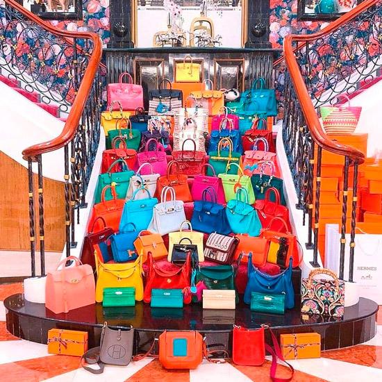 Модные сумки от Hermes