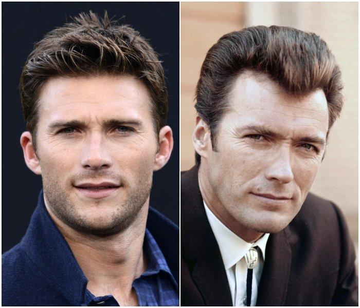 Скотт Иствуд иКлинт Иствуд очень сильно похожи