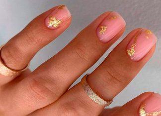 15 великолепных золотых ногтей, которые можно носить круглый год