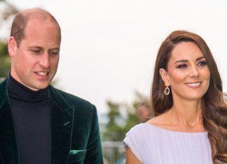 Герцогиня Кейт в сказочном платье и прической русалки появилась на церемонии и всех затмила