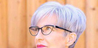 19 ультра-лестных причесок для женщин в возрасте и очках, с которыми вы будете сиять