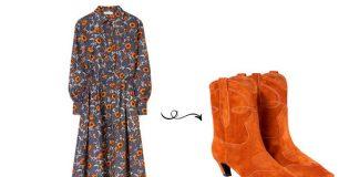 Без сомнений, самое идеальное модное сочетание в любое время: это платье + ботильоны