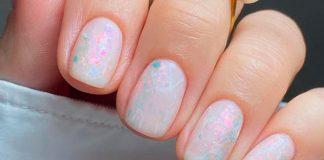 17 милых пастельных маникюров для ногтей средней длины, которые добавят вам красок