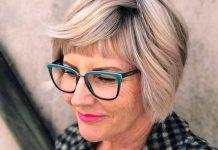 17 прекрасных стрижек боб для женщин за 60, которые не требуют особого ухода и выглядят объемно