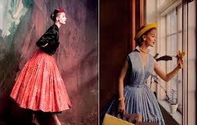 New Look в 50-e годы