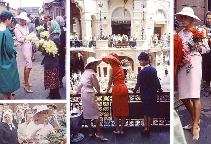 Дни французской моды в Москве, в конце 50-х