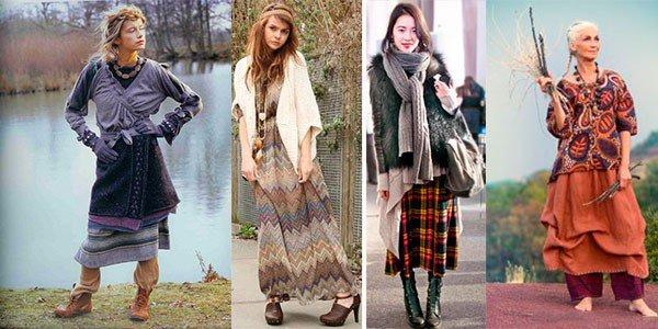 Просторные юбки и цыганские сарафаны - это стиль Бохо