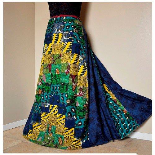Длинная юбка в стиле бохо
