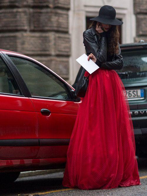 Длинная юбки из фатина фото 123