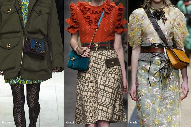 Сумки 2017 года модные тенденции осень