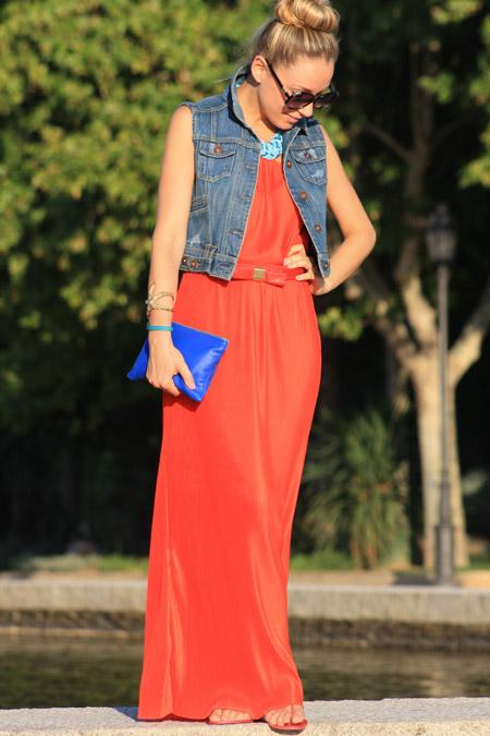 Сарафан платье с чем носить